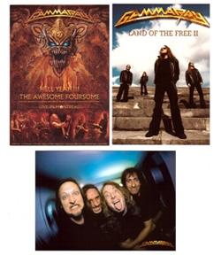 Postcardset: Hell Yeah, Land II, Band