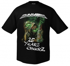 2015: Best Of The Best - 25 Years Cheers T-Shirt, Size S
