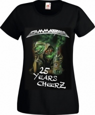 2015: Best Of The Best - 25 Years Cheers Girlie-Shirt, Size L