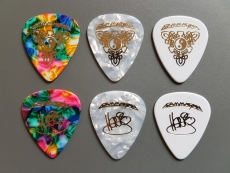 Henjo Richter Guitar Picks Tripple Set