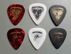 Kai Hansen Guitar Picks Tripple Set