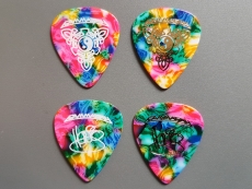 Henjo Richter Guitar Picks Multi Double Set