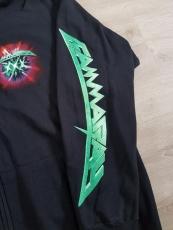 2020: 30 Years Anniversary Zip-Hoodie (green), Size M