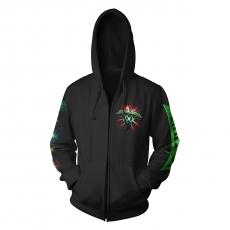 2020: 30 Years Anniversary Zip-Hoodie (green), Size XL