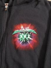 2020: 30 Years Anniversary Zip-Hoodie (green), Size XXL