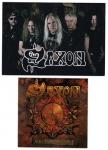 Saxon: Postkarten- Stickerset: 2007