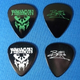 Jan Bertram - Guitar Pick Set Paragon, Celluloid