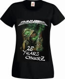 2015: Best Of The Best - 25 Years Cheers Girlie-Shirt, Size XS