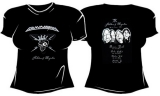 2011: Skeletons & Majesties Tour Girlie-Shirt, Size M