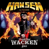 2017: Hansen & Friends - Thank You Wacken Live (CD+DVD)